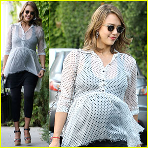 Jessica Alba: Baby Shower in West Hollywood!