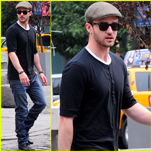 Justin Timberlake: Business Lunch at Pastis Restaurant