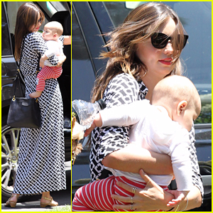 Miranda Kerr: Family Visit in Santa Barbara with Flynn!