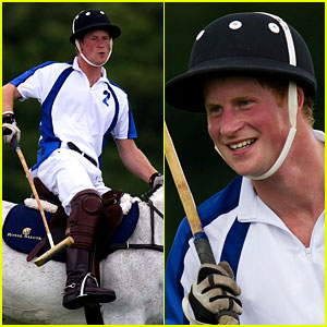 Prince Harry: British Polo Day Charity Cup!