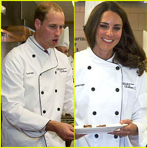 Prince William & Kate: Cooking Workshop in Quebec!