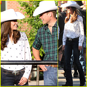 Prince William &#038; Kate: Calgary Cowboys!