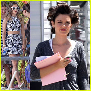 Rachel Bilson: 'The To Do List' Pool Shoot!