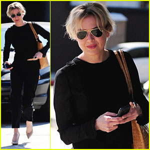 Renee Zellweger: Kate Somerville Visit