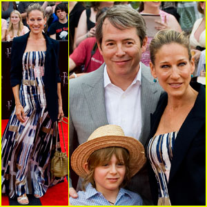 Sarah Jessica Parker: 'Harry Potter' Premiere with the Family!