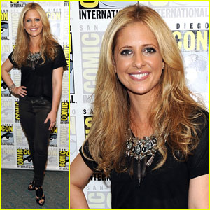 Sarah Michelle Gellar: 'Ringer' at Comic-Con!