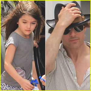Tom Cruise & Suri: Katie Leaves Miami