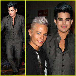 Adam Lambert: Equality Awards with Sauli Koskinen!