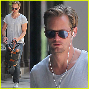 Alexander Skarsgard: Cold Grey Light of Dawn!