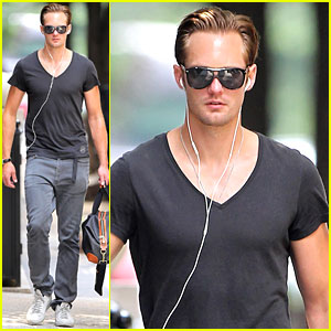 Alexander Skarsgard Quit Acting As a Kid