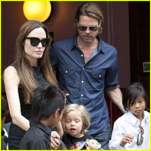 Angelina Jolie & Brad Pitt: 'Wicked' in London!