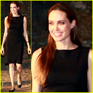 Angelina Jolie Meets with the President of Croatia