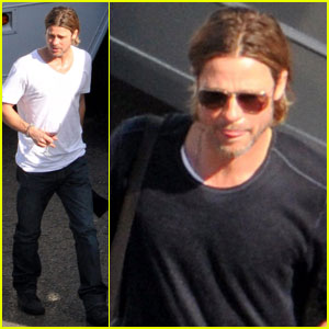 Brad Pitt: 'World War' Weekend