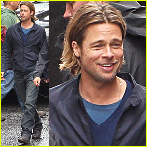 Brad Pitt: 'World War Z' Set in Glasgow!
