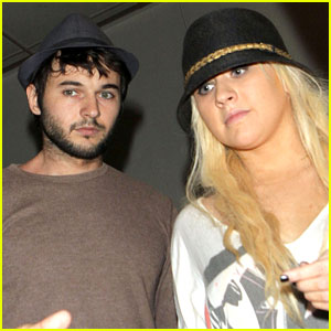 Christina Aguilera: Airport Arrival with Matthew Rutler