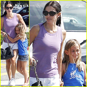Courteney Cox &#038; Coco: Lovely LA Ladies!