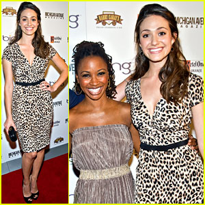 Emmy Rossum: Michigan Avenue Magazine Party!