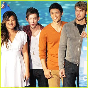 Chord Overstreet & Jenna Ushkowitz: 2011 Teen Choice Awards!