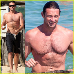 Hugh Jackman: Shirtless in Saint-Tropez!