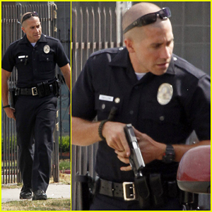 Jake Gyllenhaal: Guns Out for 'End of Watch'!