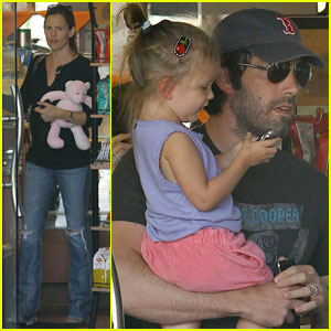 Jennifer Garner &#038; Ben Affleck: Deli with Seraphina!