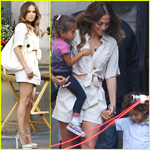 Jennifer Lopez: 'Papi' Shoot with Max a