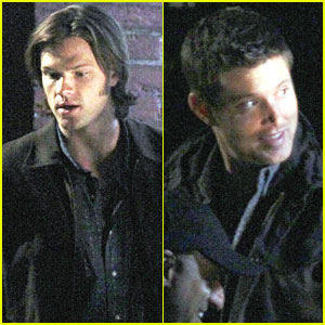 Jensen Ackles & Jared Padalecki: 'Supernatural' Night Shoot!