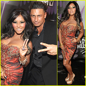 Jersey Shore Cast - MTV VMAs 2011 Red Carpet