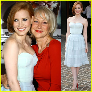 Jessica Chastain & Helen Mirren: 'Debt' Duo