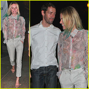 Kate Bosworth: Coldplay Concert with Michael Polish!