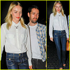 Kate Bosworth: Night Out with Michael Polish!