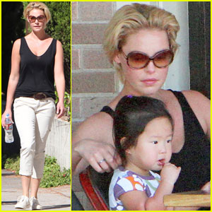 Katherine Heigl &#038; Josh Kelley: Lunch with Naleigh!