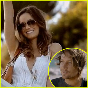 Summer Glau Stars In Keith Urban's Music Video