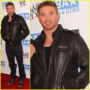 Kellan Lutz: WWE Summer Slam Kickoff Party!