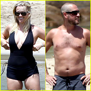 Reese Witherspoon & Jim Toth: Hawaiian Beach Vacation!