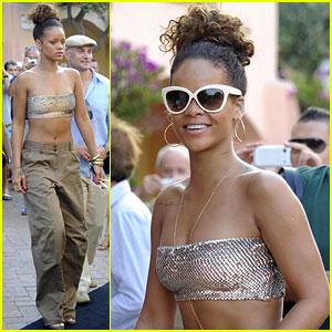 Rihanna: Last Night in Sardinia!