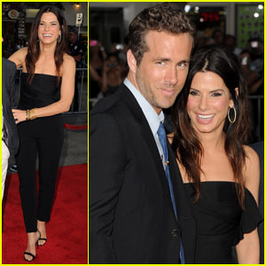 Sandra Bullock: 'Change-Up' Premiere with Ryan Reynolds!