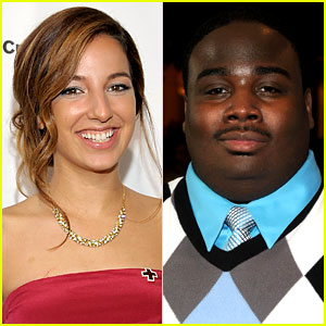 Vanessa Lengies & LaMarcus Tinker Join 'Glee' Season 3!