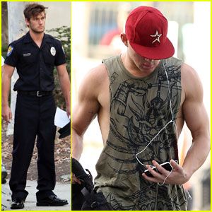 Alex Pettyfer & Channing Tatum: 'Magic Mike' Men