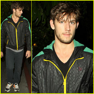 Alex Pettyfer Is A Chateau Marmont Man