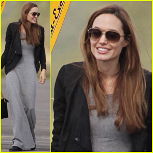 Angelina Jolie: Flying Lesson