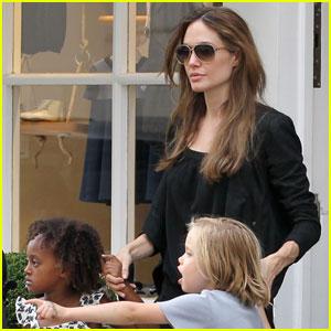 Angelina Jolie: La Stupenderia Milano Mommy