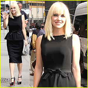 Anna Faris: Late Show with David Letterman!