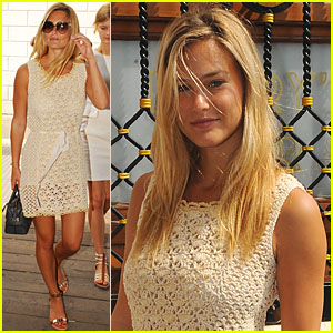 Bar Refaeli: Vogue Italia Feature in Venice!