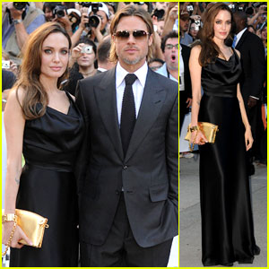 Brad Pitt: 'Moneyball' TIFF Premiere with Angelina Jolie!