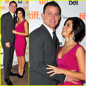 Channing Tatum & Jenna Dewan: 'Ten Year' Premiere Pair!