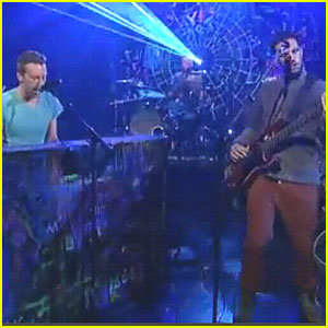 Coldplay: 'Paradise' on Letterman!