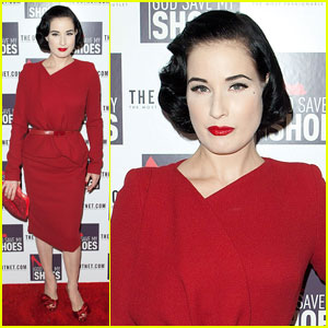 Dita Von Teese: 'God Save My S