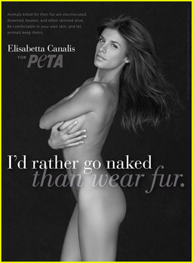 Elisabetta Canalis: Nude PETA Ads Unveiled!