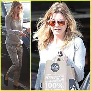 Ellen Pompeo: Whole Foods Shopper